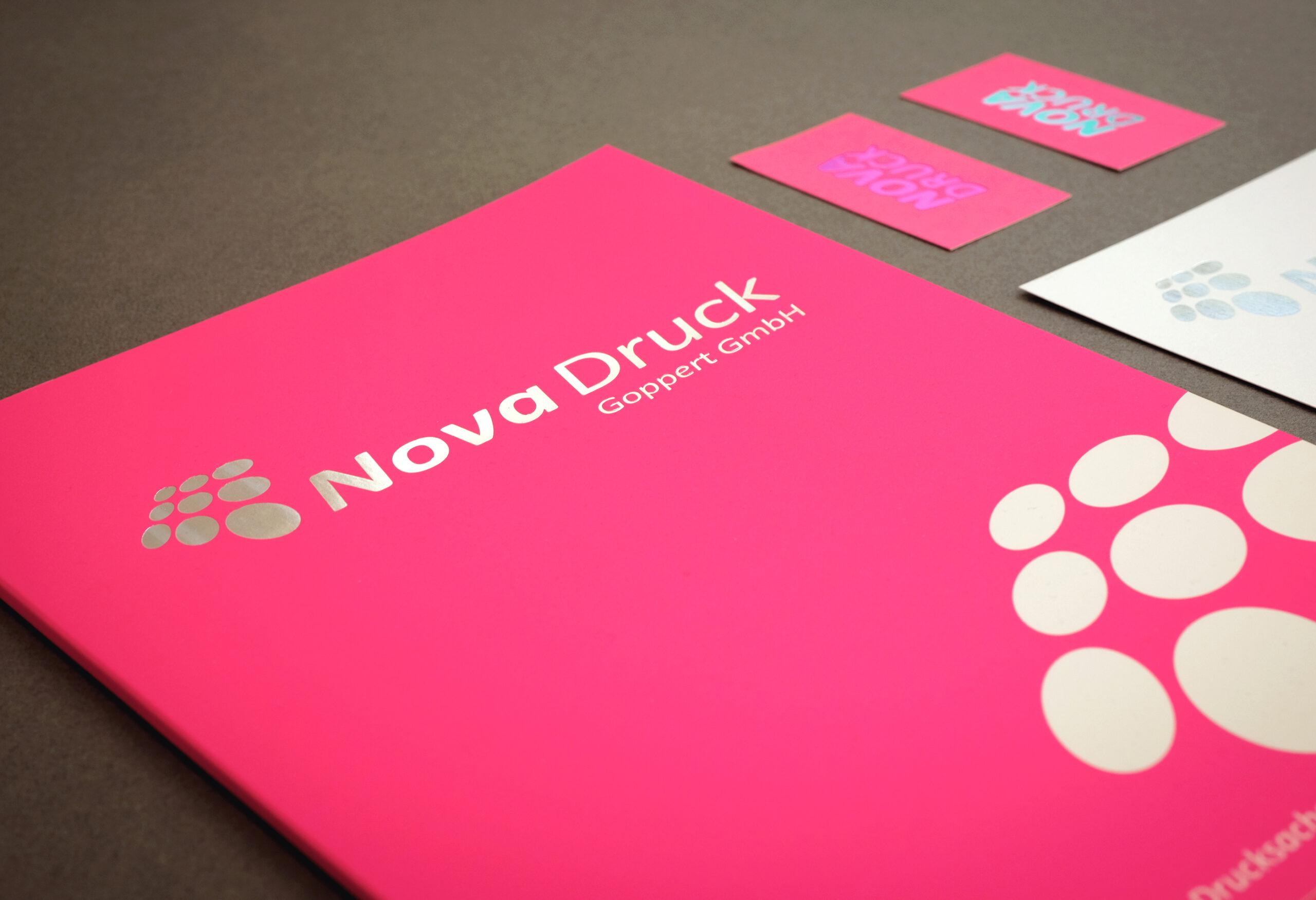 Nova Druck Bild Softtouch-Cellophanierung